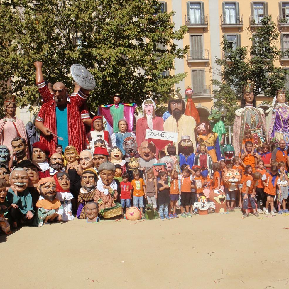 500 anys de gegants a Girona