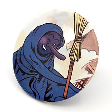 Xapa de la Bruixa de la Catedral (dia)